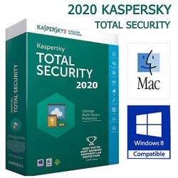 Genuine Kaspersky Total Security 2020