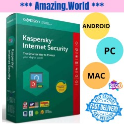 Kaspersky Total / Internet Security 2020 - Premium Antivirus for PC