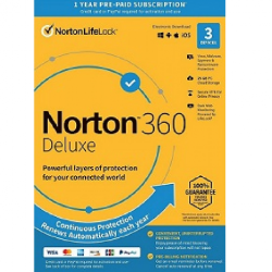 Norton 360 Deluxe 2020 - 3 PC Device Download
