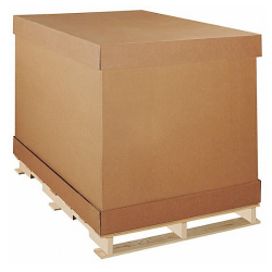D Container with Pallet